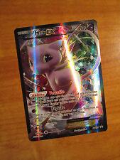NM FULL ART Pokemon MEW EX Card Black Star PROMO XY125 Super Premium Collection