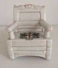 Vintage Crest ware LONDON Decorative Chair