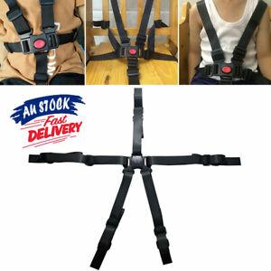 5 Point Car Belt High Chair Children Pram Buggy Stroller Harness Baby Safe Strap