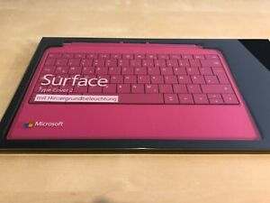 Microsoft Surface Type 2 Cover pink Hintergrundbeleuchtung für Surface 2/Pro OVP