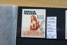 FRANCOBOLLI ITALIA COLONIE SOMALIA USATI (F72340)