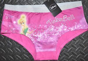TINKERBELL KNICKERS DISNEY Panties UNDERWEAR WOMENS LADIES UK SIZE 12