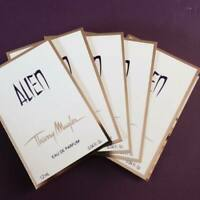 5 x Thierry Mugler Alien EDP 1.2ml Vial Sprays - Perfect travel / handbag size