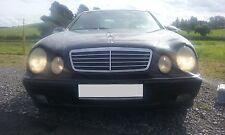 Mercedes CLK E200 motor de gasolina 1999 rompiendo todas las piezas W208 Delantero N/S Trasero O/S