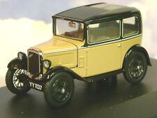SUPERB OXFORD DIECAST 1/43 1932 AUSTIN SEVEN 7 RN SALOON IN FAWN & BLACK ASS001