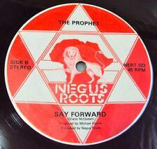 "NEVILLE BROWN & The PROPHET - I'm A Superman Rare DUB REGGAE UK Negus Roots 12"""