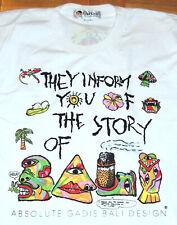 Bali T Shirt Indonesia Beach Surf Single Stitch Gadis Street Wear Large Vintage