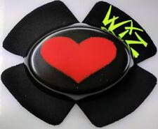 WIZ KNEE SLIDERS RED BLACK BIG HEART