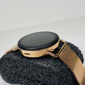 Skagen Falster 3 Smartwatch HR Rose Tone Steel Mesh SKT5204 42mm Gen 5