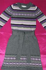 Jillians Closet  100% soft cotton girls warm winter dress size 3 UK