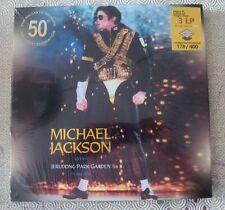 """MICHAEL JACKSON """"LIVE AT JERUDONG PARK GARDEN 1996"""" 3 COL LP+2CD BOX LTD 178/400"""