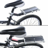 MTB Bike Bicycle Seat Post Mount Rear Seat Pannier Racks Rear Carrier Rack Hot