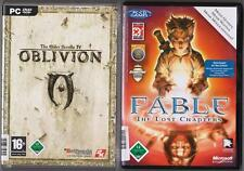 Fable the Lost Chapters + The Elder Scrolls IV 4 Oblivion principal juego PC juegos