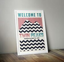 Twin Peaks Inspired Retro Print/ Poster A3/A4 Minimalist Prints Wall Art Poster