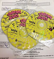 RADIO SHOW: GOOD TIME OLDIES 5/20/95 CHUBBY CHECKER FEATURE, BEATLES; BOB DYLAN