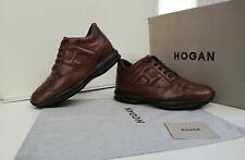 SCARPE HOGAN N.41,5 (7,5) ORIGINALI INTERACTIVE UOMO Men SIZE shoes Marroni