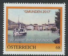 PM - Personalisierte Marke 80 Jahre BMSV-Gmunden - Schiff - Traunsee ** PF0842
