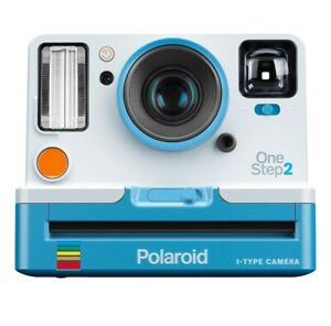 Polaroid Instant Camera One Step 2. I-Type Camera. Classic Blue White Vintage