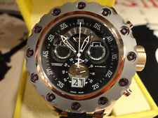 Invicta 18553 52mm Rose Gold Specialty Subaqua Swiss Chrono Silicone Strap Watch