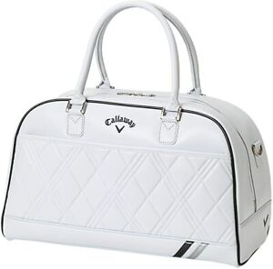 Callaway Boston Bag PU SPORT Ladies 2021 Model White Silver Synthetic Leather