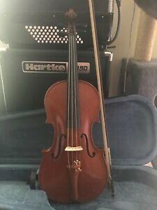 violon 4/4 Mirecourt début XXème Couturieux très bon état avec archet et étui