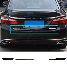 FIT FOR 2013- HONDA ACCORD CHROME REAR TRUNK BOOT TAILGATE DOOR COVER TRIM LID