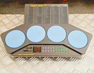 Vintage Yamaha DD-7 Super Session Player Digital Percussion Drum Machine + box