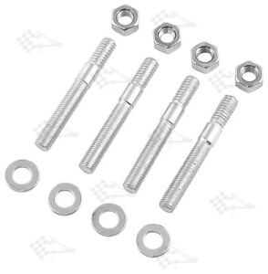 "2-1/2"" Carb Studs - 5/16"" Thread - Pack of 4 - Edelbrock Holley"