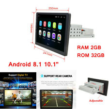 10.1'' Android 8.1 2+32G 1080P Car Stereo Radio Single DIN 3G/4G GPS Navigation
