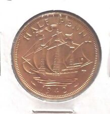 CIRCULATED 1942 HALF PENNY UK COIN (021516)