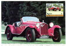 St Lucia. Alfa Romeo 1750GS $1 Maxi Card. Auto 100 Postcard