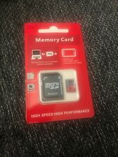 8GB Micro SD Memory Card for Smartphone Tablet  Camera W SD Card Adaptor