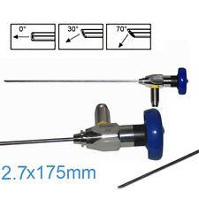 Medical Endoscope 2.7MM Arthroscope Sinus Scope 2.7x175mm Endoskop 0° FDA