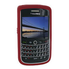 OEM Dark Red Gel Rubberized Silicon Skin Blackberry Onxy BOLD 9700 9780 Original