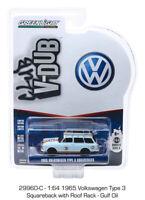 Gulf Oil 1965 Volkswagen Type 3 Squareback VW V-DUB 9 GREENLIGHT DIECAST 1:64