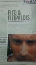 Fito y los Fitipaldis colección reportajes revista