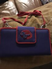 Red Hat Ladies Of Society Wallet With Shoulder Strap New