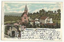 Dürrnberg bei Hallein Einfahrt ins Bergwerk Litho 1902
