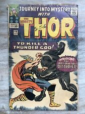 Journey Into Mystery with Thor #118 Marvel Comics 1st Appearance Destroyer