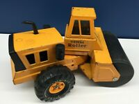 VTG 1970s Mighty Tonka Roller Pressed Steel Die Cast Construction Toy Truck 70s
