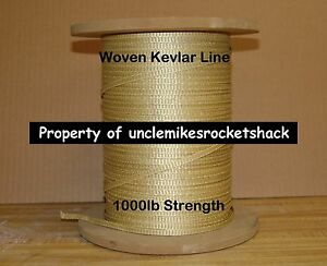 """Kevlar Woven Line 1000# 3/16"""" Great For Shock Cords 10' Made with Kevlar"""