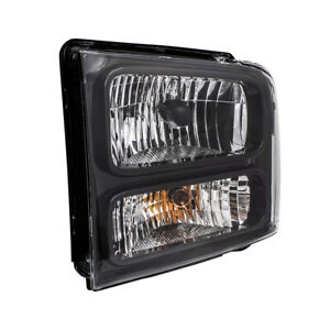 Drivers Halogen Headlight Assembly for 05 Ford Excursion 05-07 Super Duty Pickup