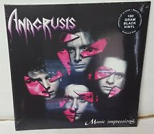 Anacrusis Manic Impressions Black Vinyl LP Record new reissue