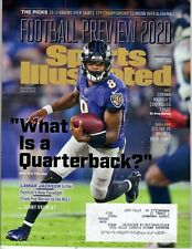 SPORTS ILLUSTRATED - Aug 15, 2020 - LAMAR JACKSON Cover - NFL, Ravens, Preview