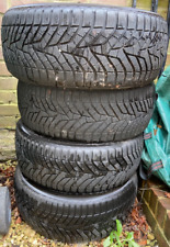 More details for set of 4 winter tyres;  very little used, w-drive v905 225/45r17