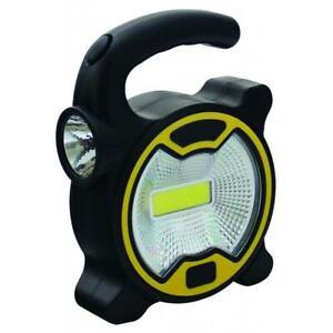 SPOTLIGHT WORLK LIGHT 2 IN 1 3W/1W COB LIGHT POWER PORTABLE LANTERN WORK LIGHT