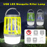 2 in 1 Electric UV USB Mosquito Zapper Killer Fly Insect Bug Trap Lamp Camping