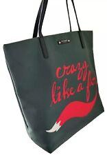 BID NOW! Pre-owned Kate Spade Blaze A Trip 'Crazy Like a Fox' Bon Shopper Tote