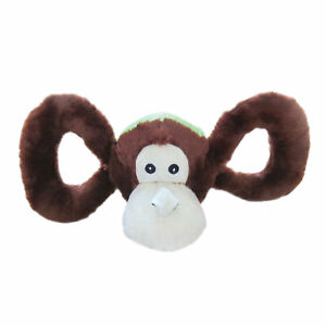 Horsemans Pride Jolly Pets Tug A Mal Monkey Unisex Pet Accessory Dog Toy - Brown