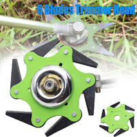 6 Teeth Steel Blades Grass Trimmer Brush Cutter Head Razors 65Mn Lawn Mower Weed